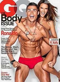 Sebelum Mo Salah, Ronaldo Pernah Foto Tanpa Busana Bareng Alessandra
