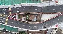 Viral Penampakan Rumah Mungil Tak Mau Digusur, Kini Terhimpit Jalan Raya