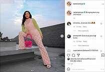 Kece Foto OOTD di Atap Rumah, Total Outfit Rachel Vennya Cuma Rp5 Jutaan
