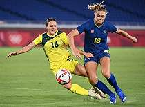 Gol Tunggal Fridolina Rolfo Antar Swedia ke Final Olimpiade Tokyo