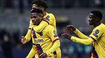 Gol Pemain 17 Tahun Bawa Barcelona Singkirkan Inter dari Liga Champions