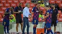 Lionel Messi Dikabarkan akan Tinggalkan Barcelona, Setien: Ini Jelas Rumor