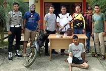 Pencuri Sepeda Motor Pak Sutrisno Akhirnya Tertangkap, nih Orangnya