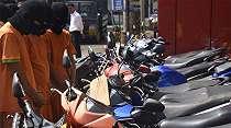 Pengumuman! Warga yang Kehilangan Motor Silakan Datang ke Polres Bogor