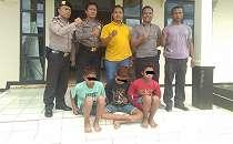 Tiga Pelajar Ini Diciduk Polisi Lantaran Berbuat Terlarang di Masjid