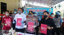 Polres Cianjur Tangkap 16 Bandar Narkoba