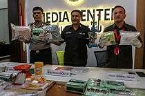 15 Kilogram Sabu-sabu dari Malaysia Masuk Indonesia