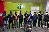 Di Hadapan Polisi, Penjambret Wartawan Bergaya, Nih Lihat