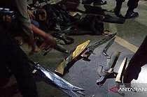 Tepergok Saat Ambil Motor Kedua, Pelaku Curanmor Tikam dan Gigit Tangan Korban, Begini Akhirnya