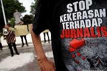 Kontraktor dan Pekerja Jadi Tersangka Penganiayaan Wartawan, Langsung Ditahan