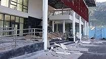 Penampakan Pelabuhan Pulau Bacan Usai Diguncang Gempa 7,2 SR