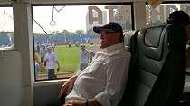 Keren, Ada Bus Listrik di Area Upacara 17 Agustus-an Bakrie Group