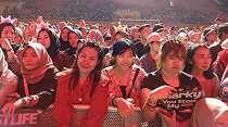 Konser Westlife di Palembang, Fans Pun Datang dari Malaysia-Thailand