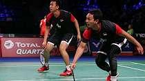 Kalahkan Ahsan/Hendra, Kevin/Marcus Juarai Denmark Open 2019