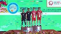 Ekspresi Wajah Ahsan/Hendra Usai Kalah di Final Hong Kong Open