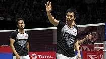 Tumbangkan Fajar/Rian, Ahsan/Hendra ke Final Indonesia Masters