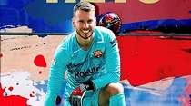 Debut Kiper Barcelona di El Clasico, Mampukah Hentikan Pemain Madrid