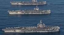 Nyali Amerika Tak Ciut Usai China Pamer Rudal Penghancur Kapal Induk