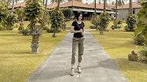Mempesona Bak Gadis Remaja, Tentara Wanita  Ini Ternyata Beranak Dua