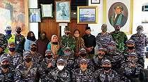 Prajurit Kapal Perang 365 Ziarahi Pusara Pangeran Diponegoro