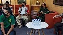 Polda Jatim Gandeng Bonek Demi Berantas Virus Corona di Surabaya