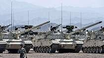 Gila, Ratusan Tank Canggih Perkuat Armada Tempur Tentara China