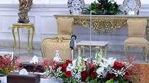 Cegah COVID-19, Kaca Pembatas Kini Dipasang di Antara Jokowi dan Tamu