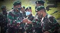 Amanat Penting Panglima Kostrad TNI dari Markas Kariango