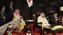4 Tahun Lalu Pengawal Botak Raja Salman Terjepit Wanita Cantik di DPR