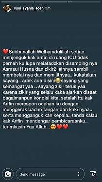 Ustaz Arifin Ilham Respons Lantunan Zikir dan Ocehan Sayang Sang Istri