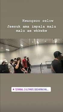 Running Man Tiba di Jakarta, Senyum 8 Member Ceriakan Soetta