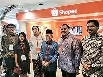 Ikut Majukan UMKM Indonesia, Shopee Dapat Dukungan Wapres