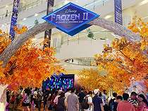 Libur Akhir Tahun, Mall Central Park Gelar Tema Disney Frozen 2