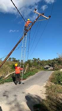 Kisah PLN Pulihkan Listrik di Pulau Sabu Usai Badai Seroja